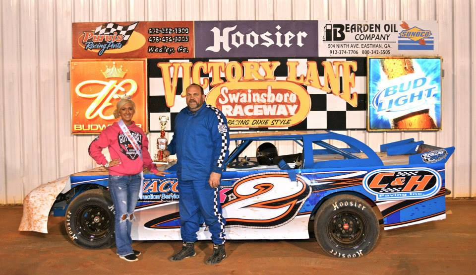 McTier Earns first Win at Swainsboro Raceway!