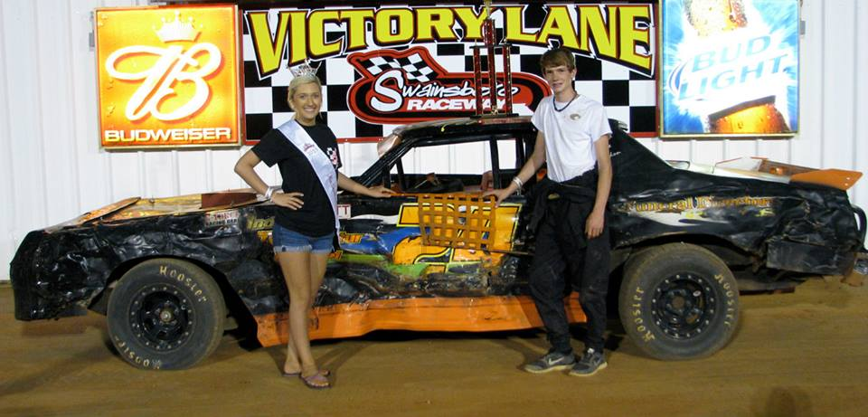 Williamson earns first win at Swainsboro Raceway!
