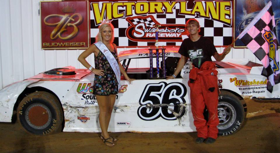 Watkins walks away with win at Swainsboro Raceway!