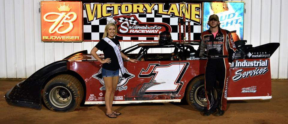 Bishop picks up first win at Swainsboro Raceway!
