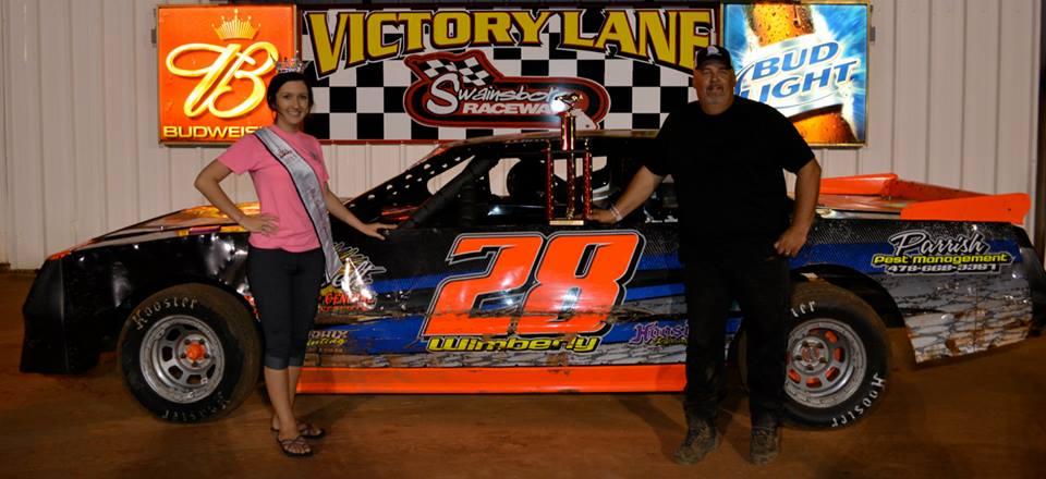 Wimberly Wins at Swainsboro Raceway!