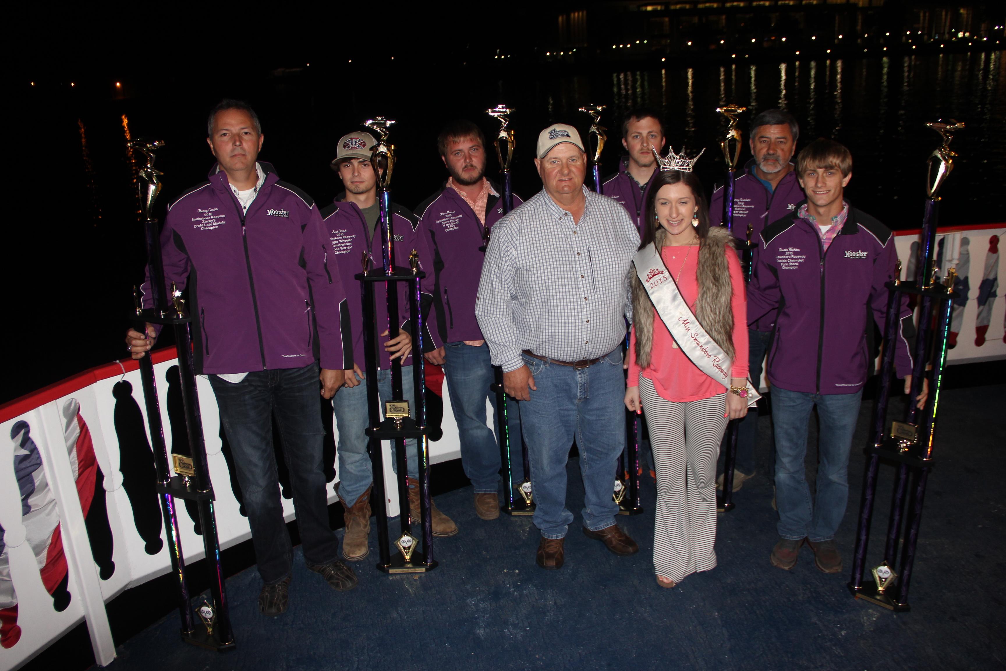 Swainsboro Raceway Celebrates season aboard Savannah River Queen!