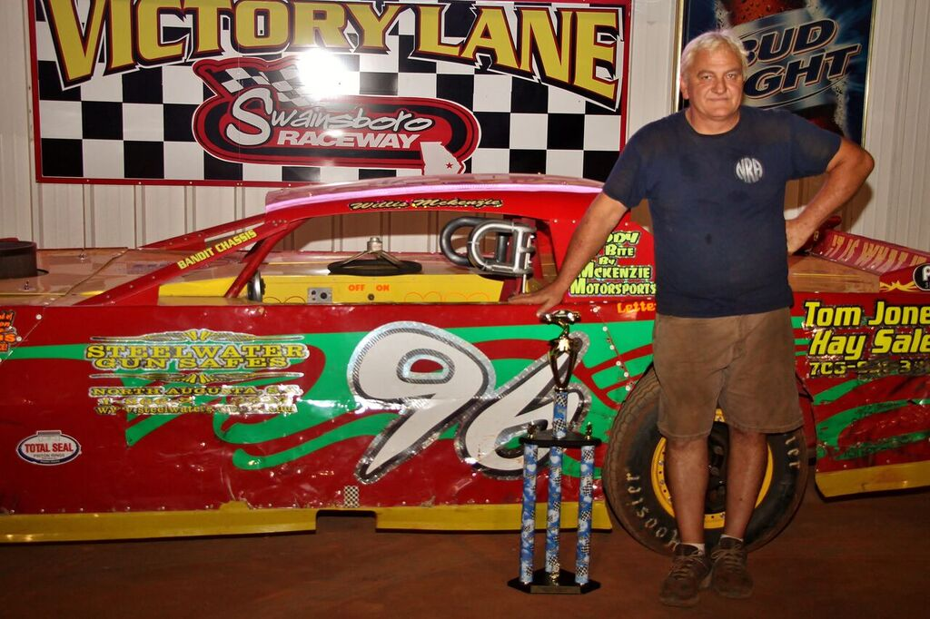 McKenzie Returns to Victory Lane at Swainsboro Raceway
