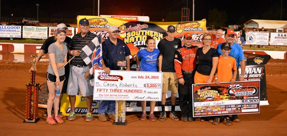 'Southern Nationals Series' $5,300-to-win Super Late Models scheduled Friday, July 22 at Swainsboro Raceway