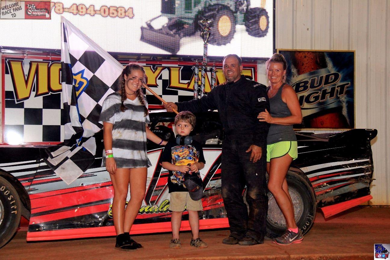 Donaldson Grabs First Win of Season at Swainsboro Raceway!