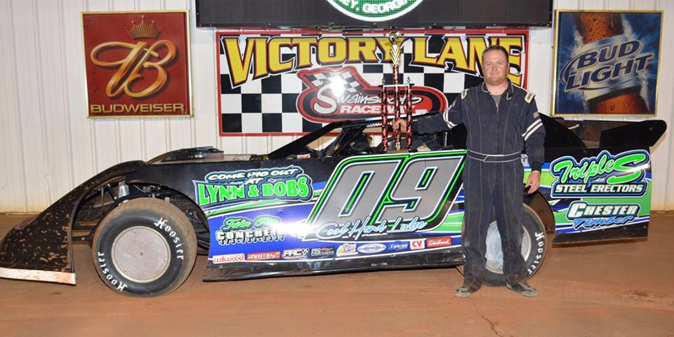 Scott two in a row at Swainsboro Raceway!