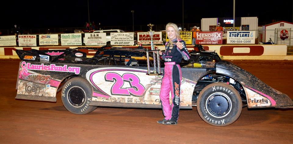 Parkhurst Earns first Career Win at Swainsboro Raceway!