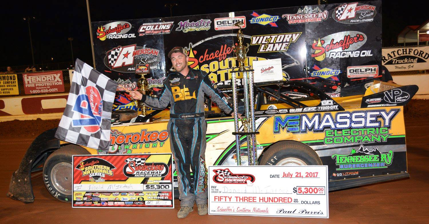 Donald McIntosh Survives for Third-Straight Southern Nationals Victory at Swainsboro
