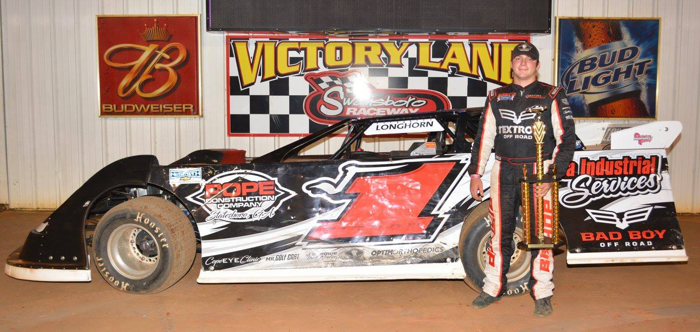Bishop Earns Win at Swainsboro Raceway!