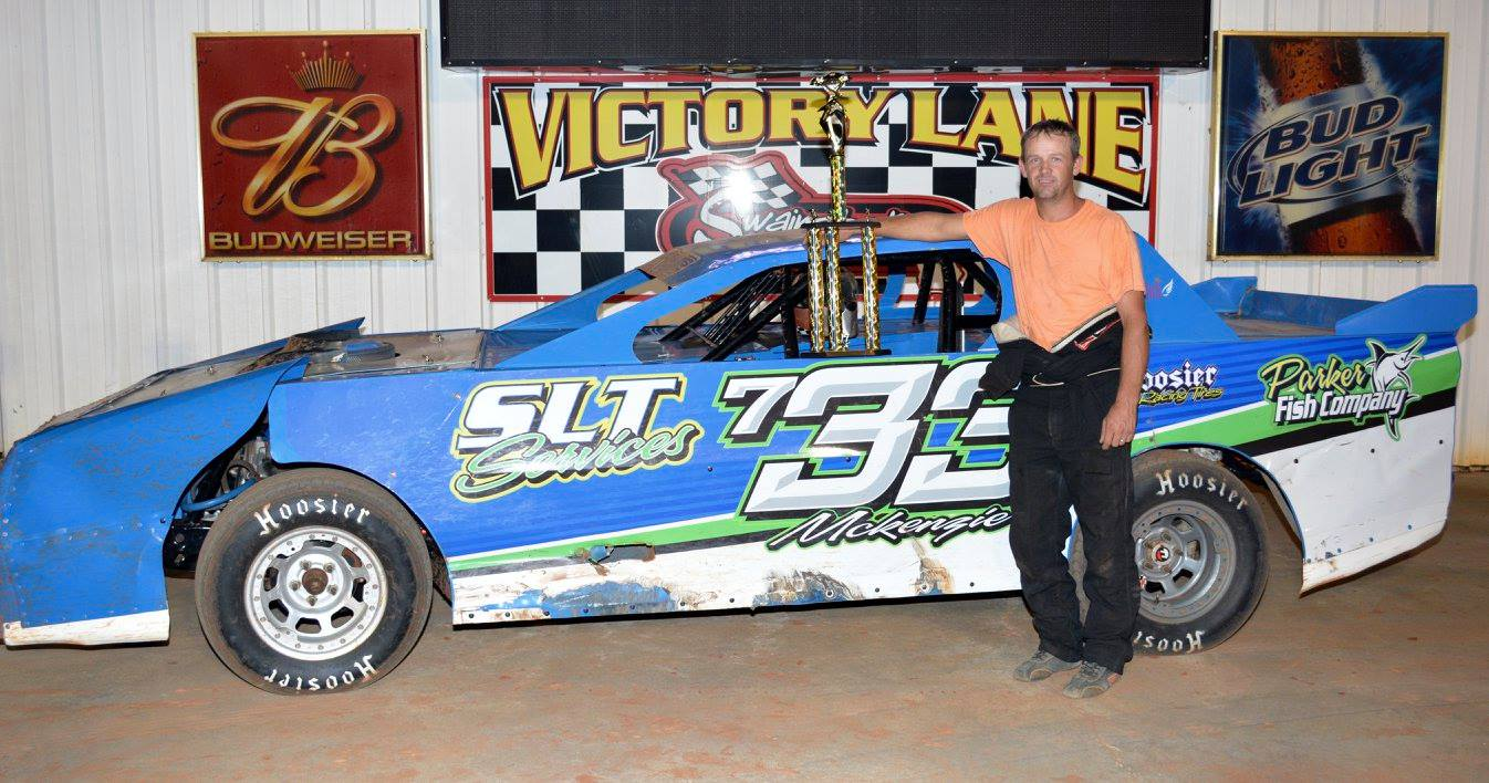 McKenzie Grabs Two in a Row At Swainsboro Raceway!