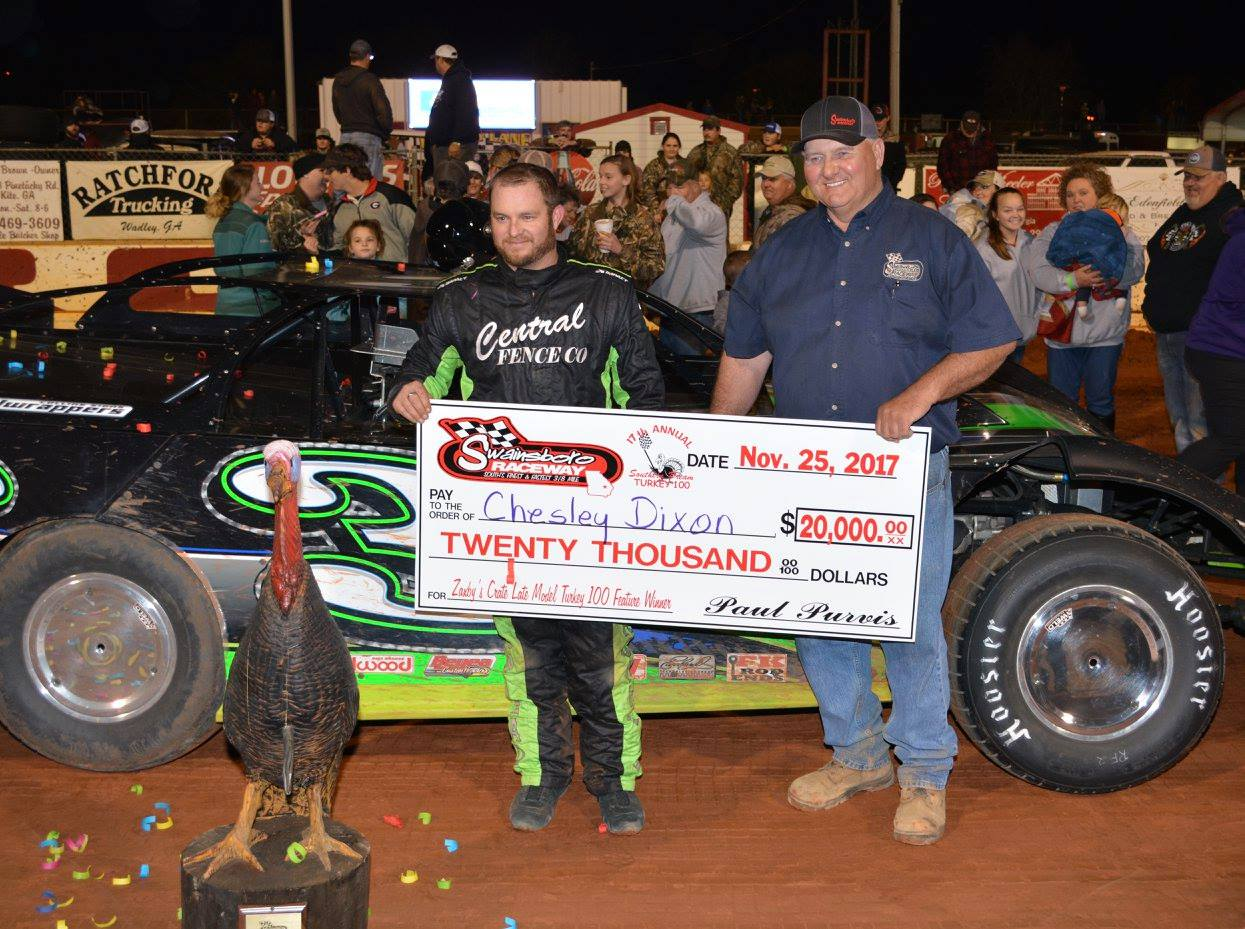 "Swainsboro Raceway Presents the 18th Annual Turkey 100 ""The Southern Dream"""