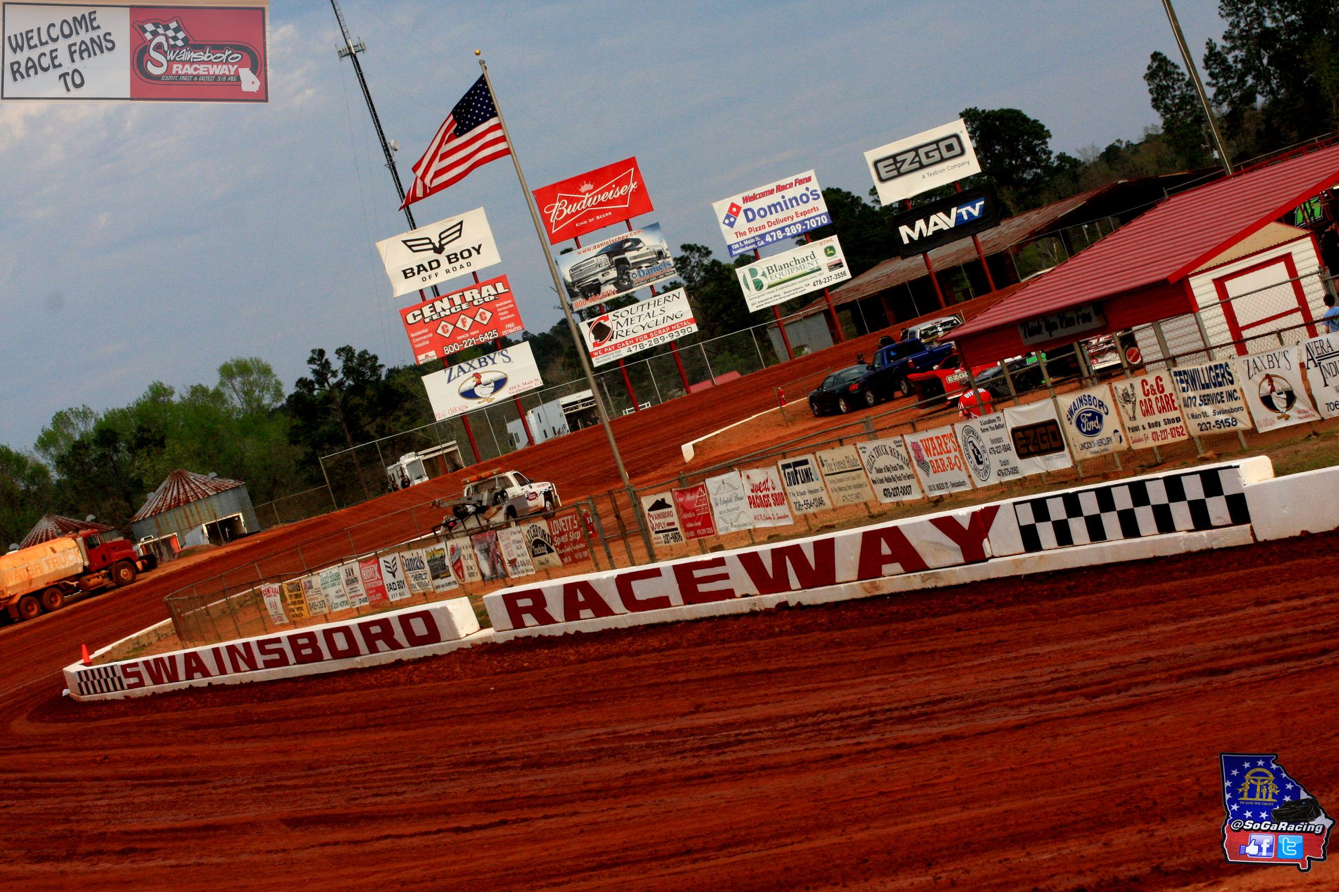 "Coming soon Racing Dixie Style in the ""Boro"""