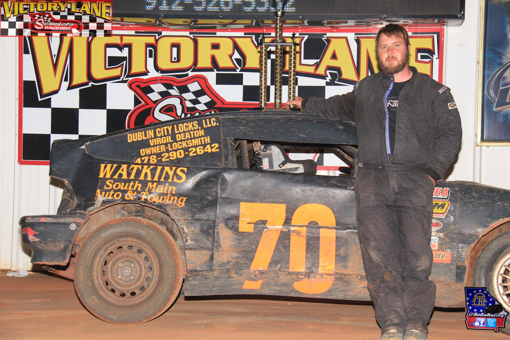 Morris Earns Second Win at Swainsboro Raceway!