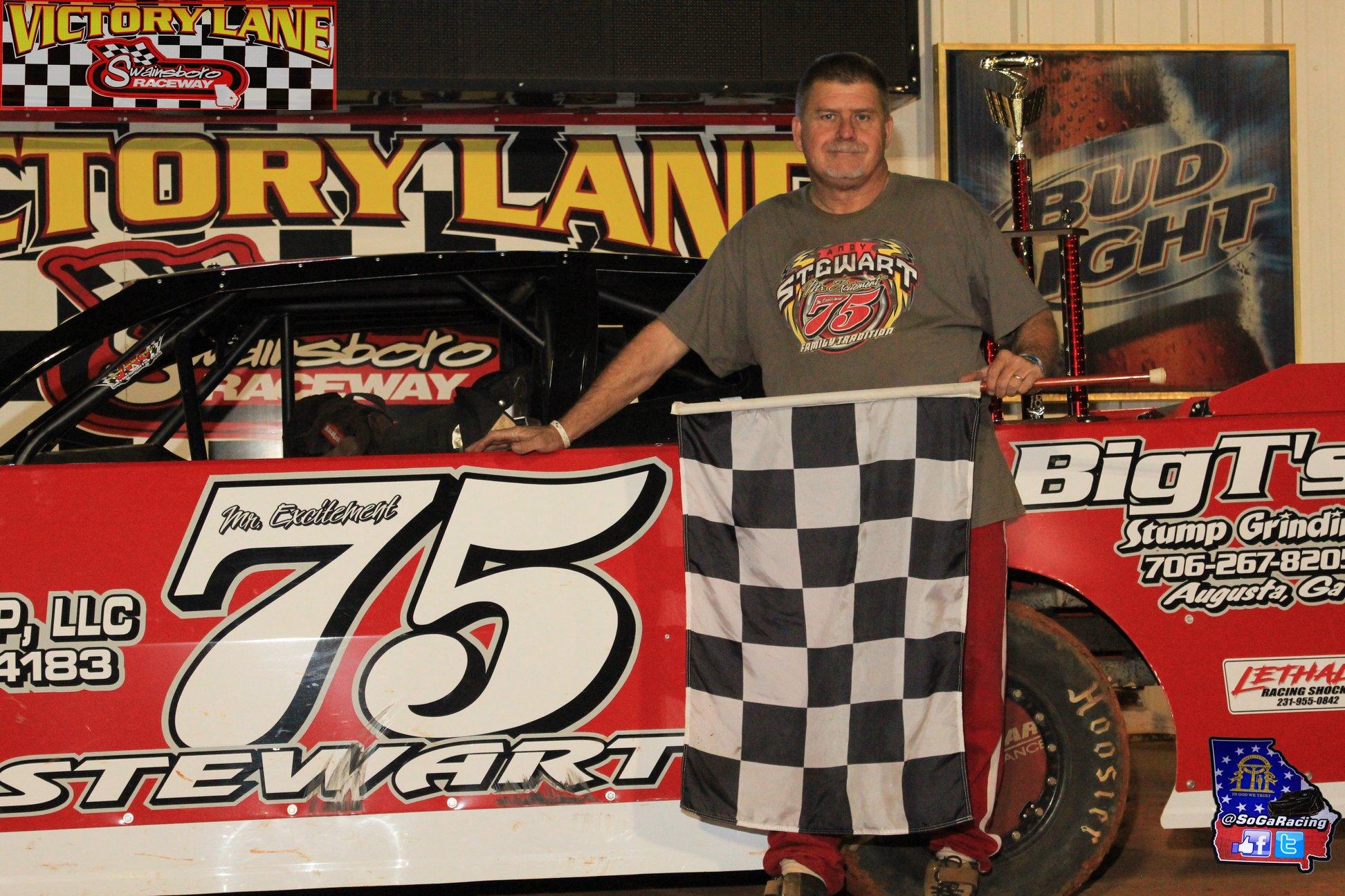 Stewart takes $1000 Daniels Chevrolet Pure Stock Win!