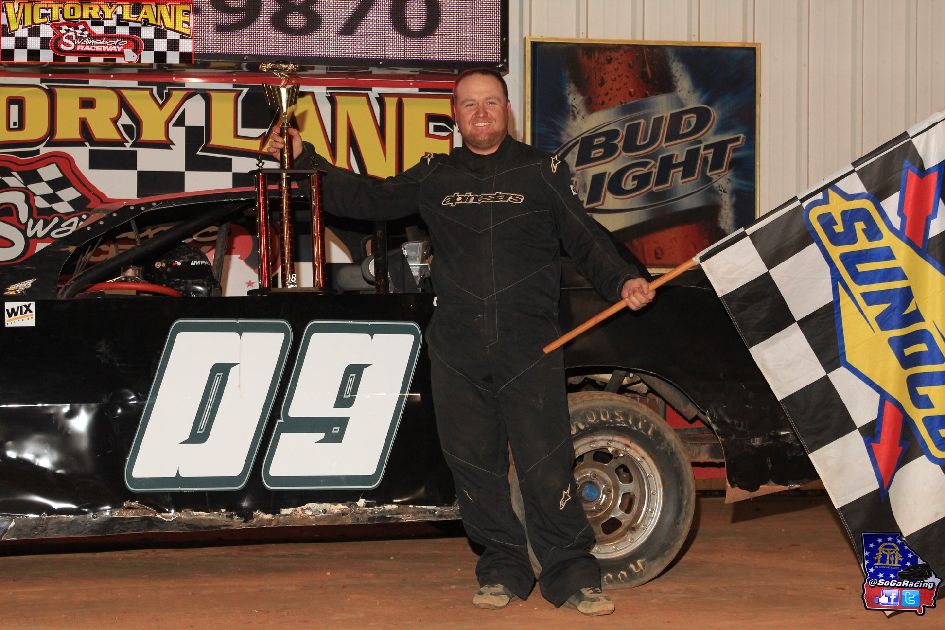 Scott Grabs Win at Swainsboro Raceway!