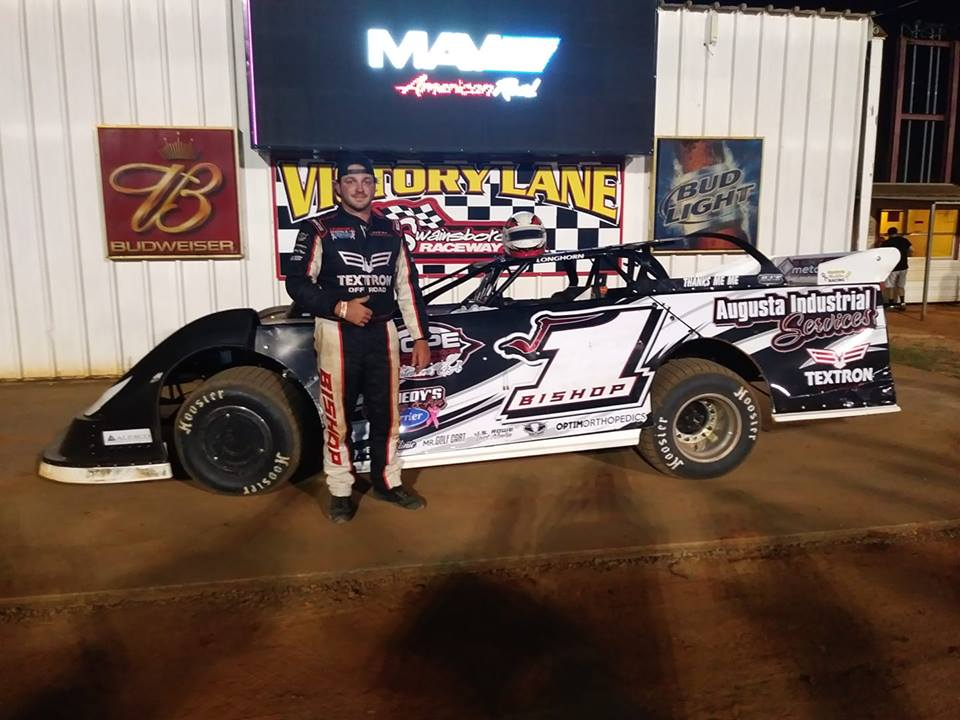 Bishop Takes Checkered at Swainsboro Raceway!