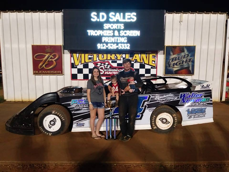 Carpenter Wins at Swainsboro Raceway!