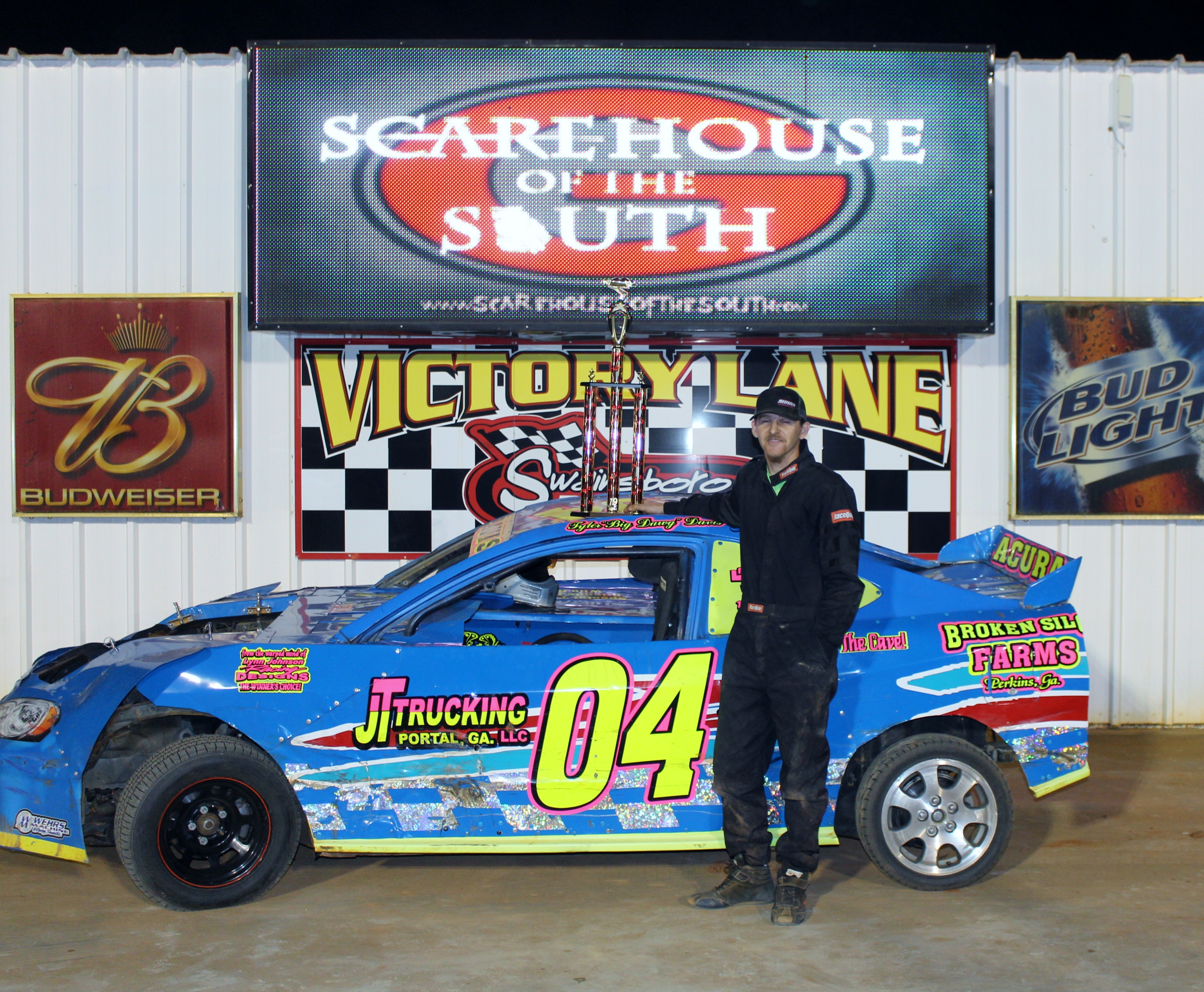 Six different Winners at Second Swainsboro Raceway Event!