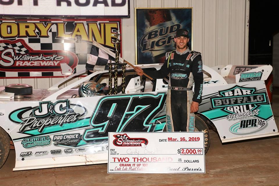 Crank It Up 100 at Swainsboro Raceway!